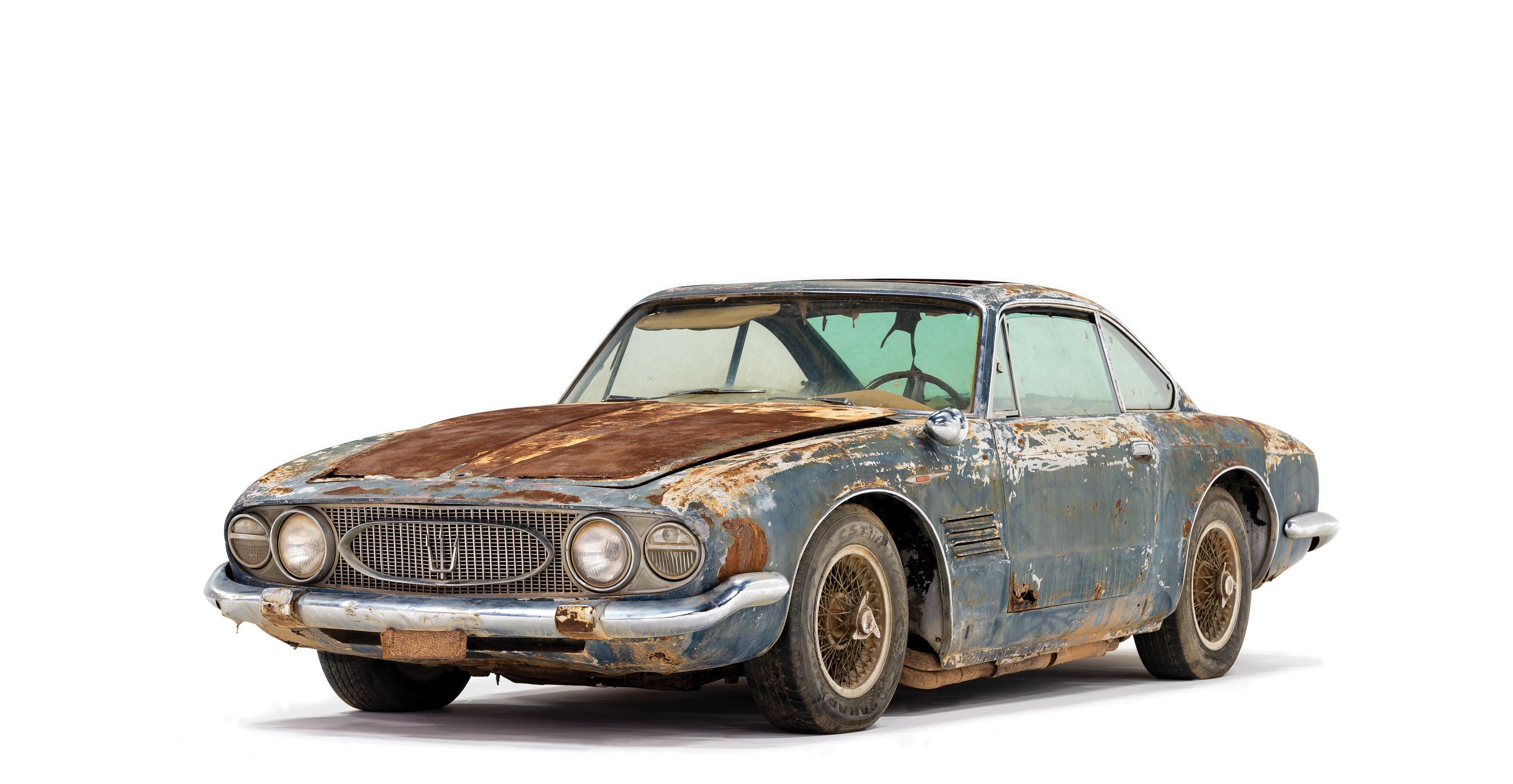Warum dieses Maserati-Wrack für über 500.000 Dollar versteigert wurde