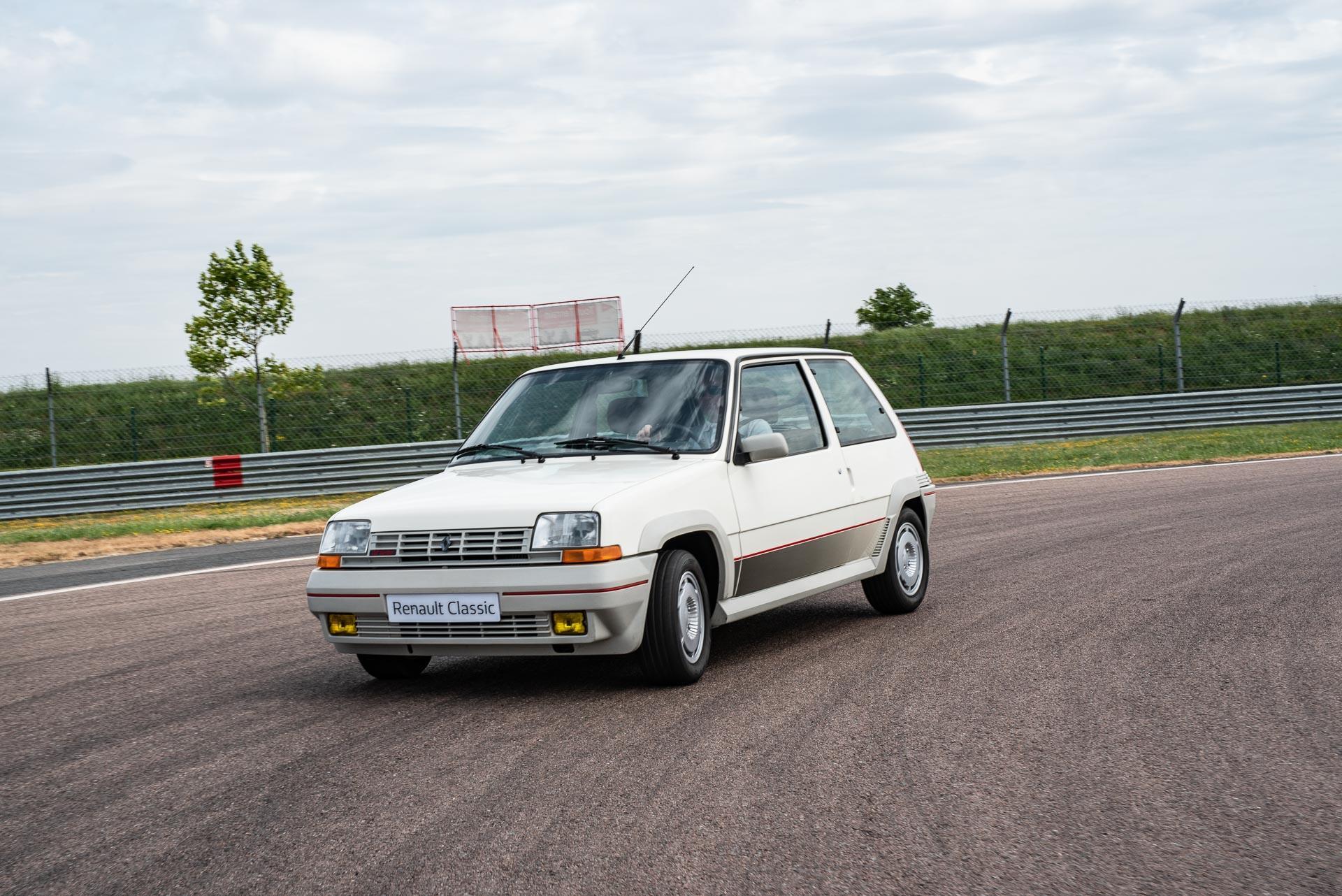 Zeitreise in die 80er: Mit dem Renault R5 GT Turbo