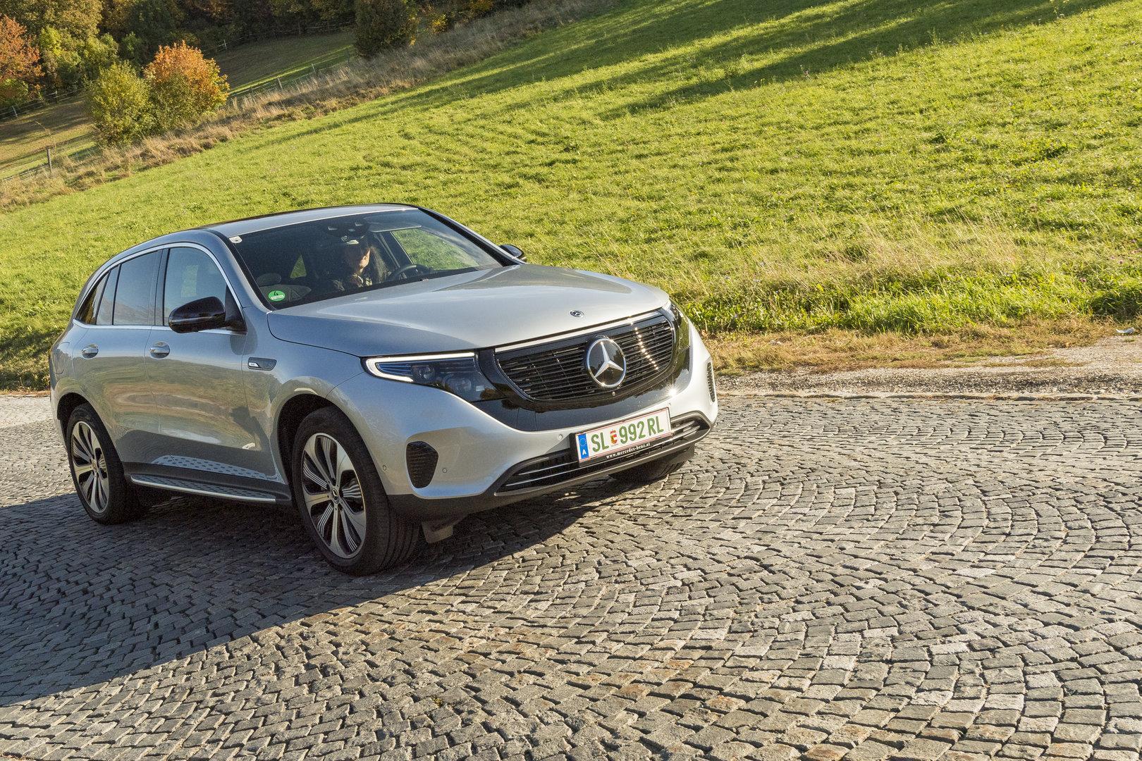 Mercedes EQC im Test: Tonnenweise Leichtigkeit