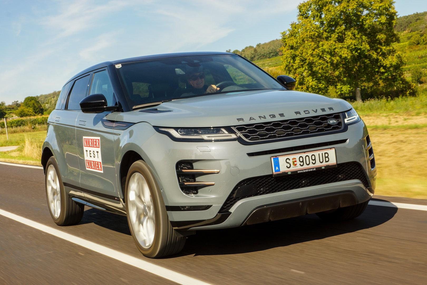 Range Rover Evoque: Seine kleine Lordschaft geht in die zweite Runde
