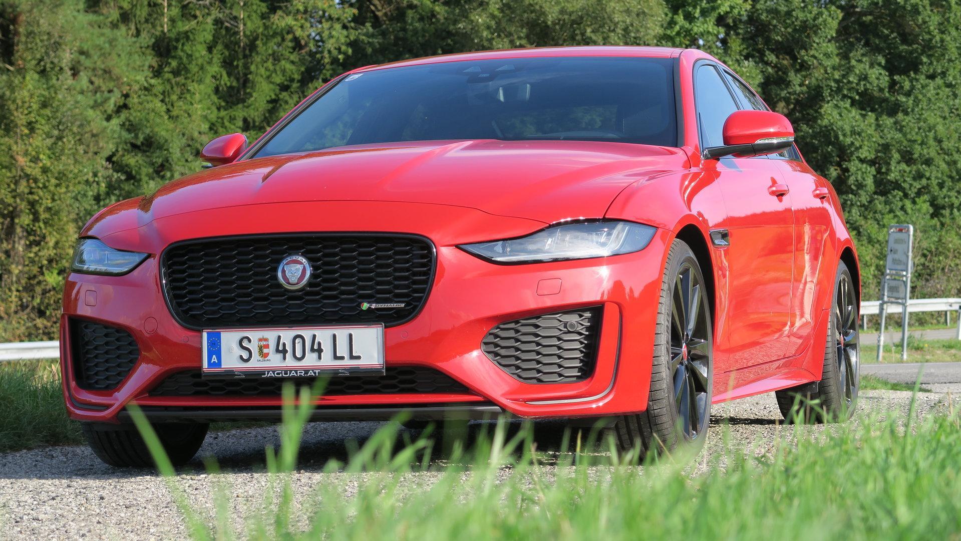 Jaguar XE: Frisch gebürstet in die zweite Etappe