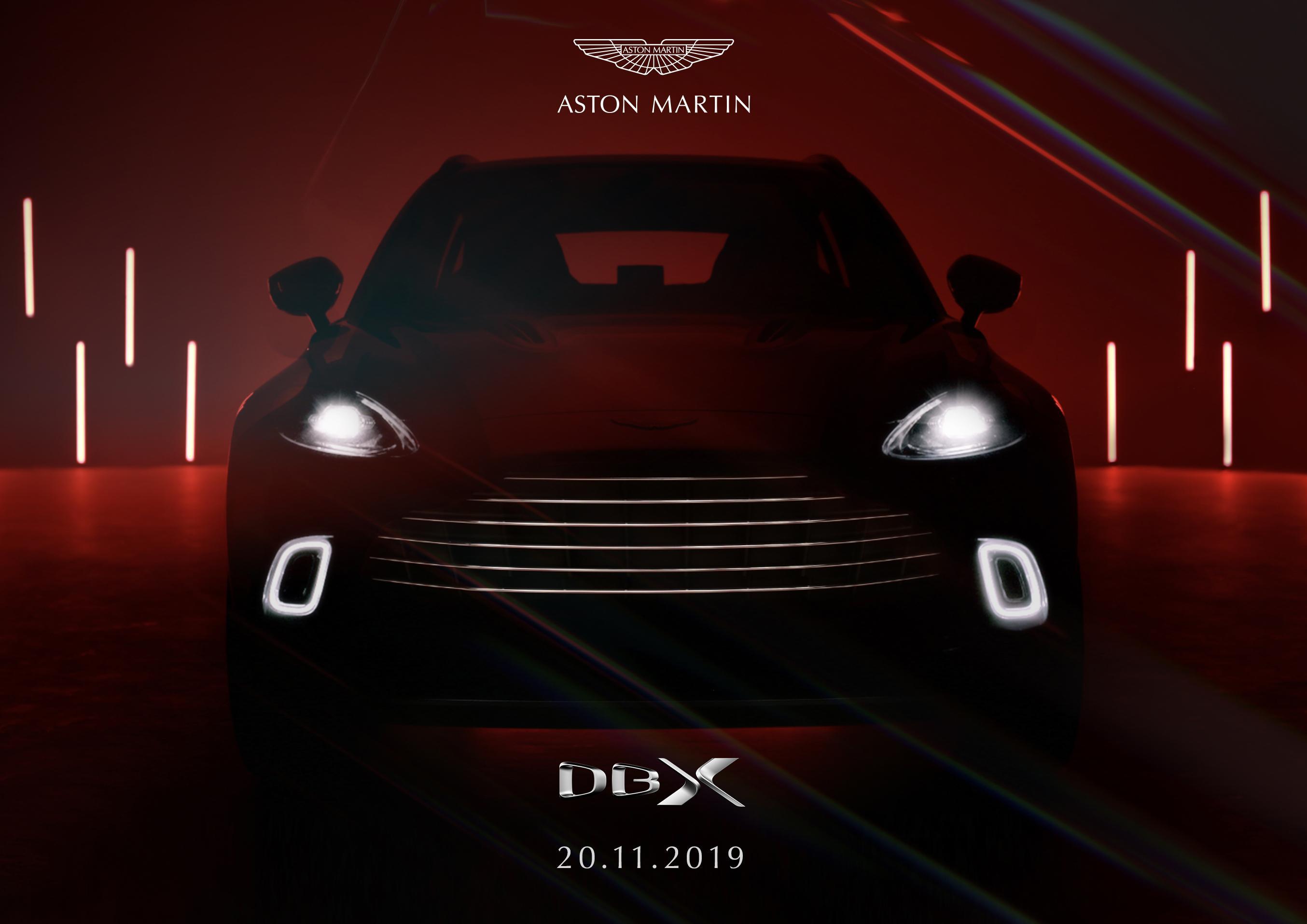 Aston Martin: Erster Eindruck vom Interieur des DBX