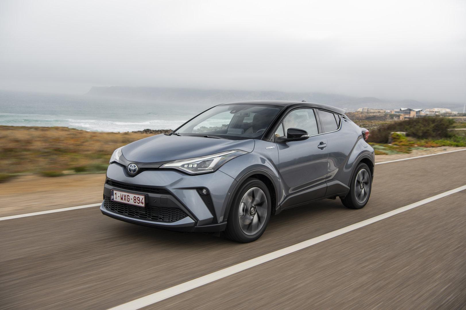 Toyota C-HR: Erste Ausfahrt mit dem neuen Hybrid