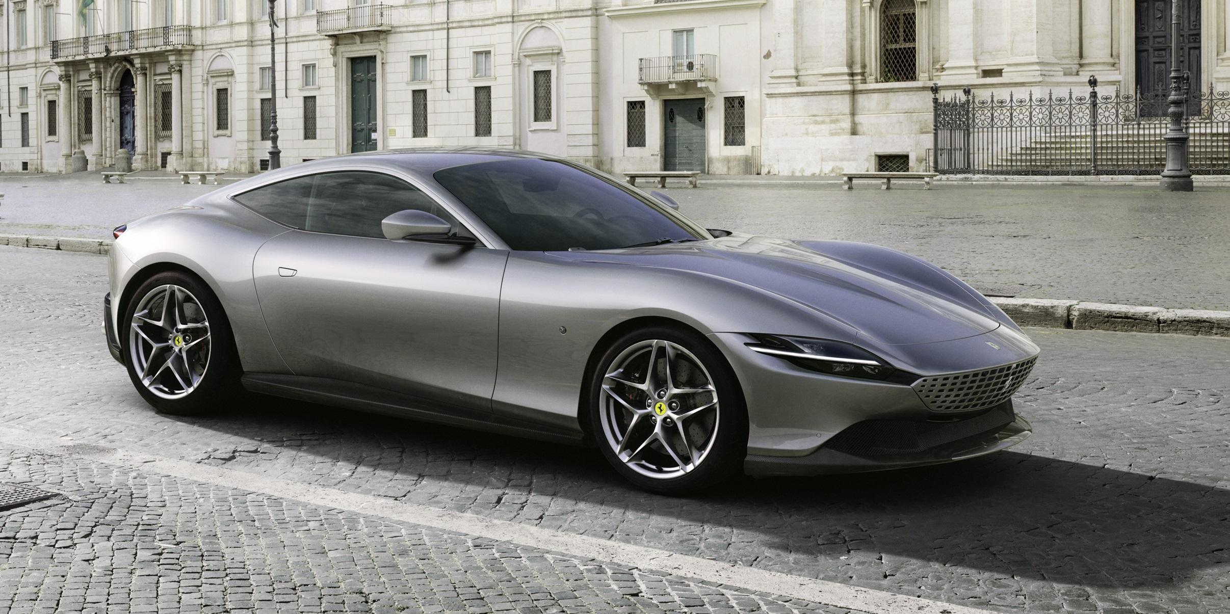 """Ferrari Roma: """"Dolce vita"""" für Ferraristi"""