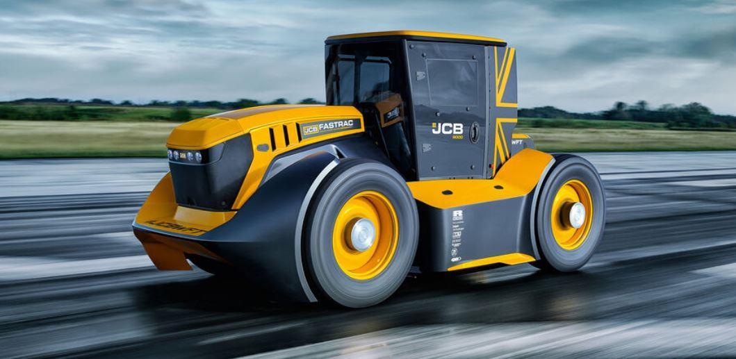 Rekord: Das ist der schnellste Traktor der Welt