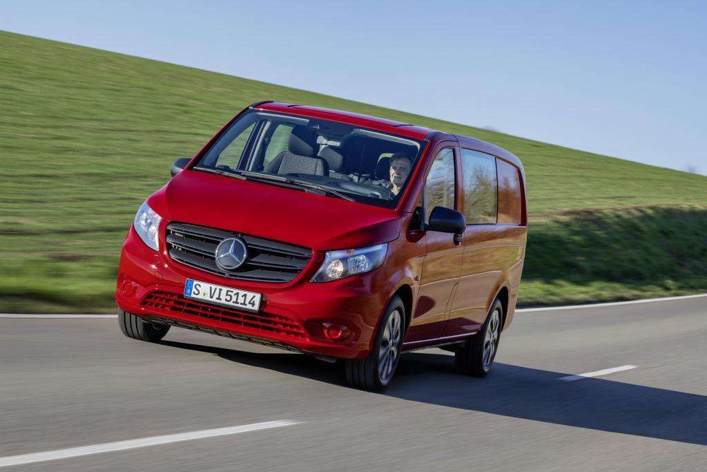 Mercedes-Benz: Modellpflege für den Vito