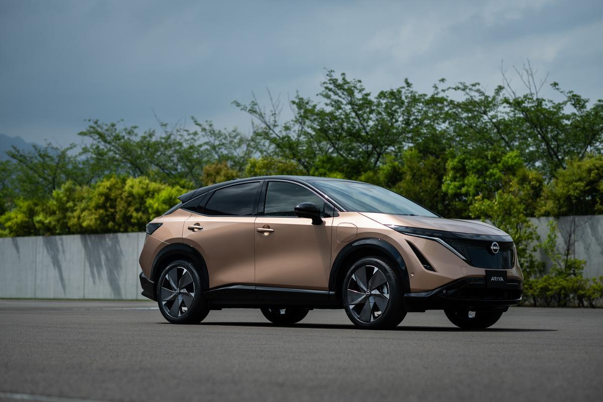 Nissan bringt Elektro Coupé-Crossover Ariya
